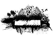 Het stedelijke ontwerp van Grunge Royalty-vrije Stock Afbeelding
