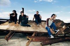 Het stedelijke team van Grunge Royalty-vrije Stock Afbeelding