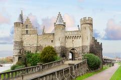 Het Steen castle, Antwerpen Stock Photography
