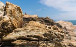 Het steenmonument Stock Foto's