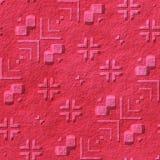 Het steenpatroon produceerde naadloze textuur Royalty-vrije Stock Afbeeldingen