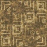 Het steenpatroon produceerde naadloze textuur Royalty-vrije Stock Fotografie