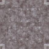 Het steenpatroon produceerde naadloze textuur Royalty-vrije Stock Foto