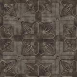 Het steenpatroon produceerde naadloze textuur Stock Foto's
