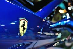 Het steigerende paard van Ferrari Royalty-vrije Stock Foto's