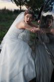 Het stelen van een bruid royalty-vrije stock afbeeldingen