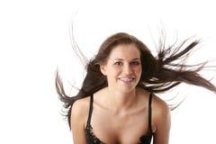 Het stellen met wind Stock Fotografie