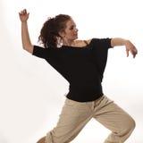 Het stellen van de danser Stock Fotografie