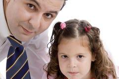Vader het stellen met zijn dochter