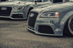 : het stemmen van Audi RS6 Royalty-vrije Stock Foto
