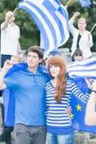 Het steunen van hun country& x27; s stabiliteit en de groei Royalty-vrije Stock Foto