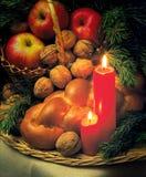 Het stil-leven van Kerstmis Stock Afbeeldingen