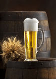 Het stilleven met bier Royalty-vrije Stock Fotografie