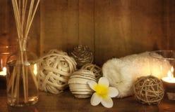 Het Stilleven van Aromatherapy van het kuuroord royalty-vrije stock afbeelding