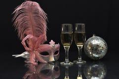 Het stilleven van Carnaval Royalty-vrije Stock Fotografie