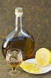 Het stilleven van de alcohol stock foto's