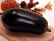 Het Stilleven van de aubergine Stock Afbeeldingen