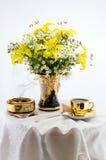 Het stilleven van de bloem Stock Foto