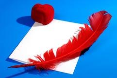 Het Stilleven van de Brief van de liefde Royalty-vrije Stock Foto