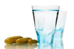 Het stilleven van de cocktail met gekleurd glas Royalty-vrije Stock Fotografie