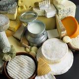 Het stilleven van de kaas Royalty-vrije Stock Foto