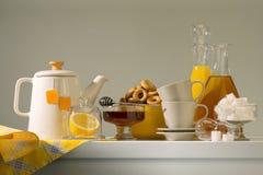 Het stilleven van de keuken Stock Fotografie