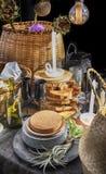 Het stilleven van de keuken Royalty-vrije Stock Afbeelding