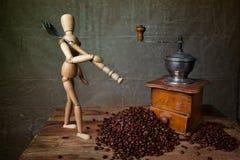 Het Stilleven van de koffie royalty-vrije stock afbeeldingen
