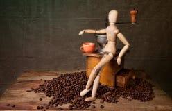 Het Stilleven van de koffie royalty-vrije stock foto's