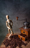 Het Stilleven van de koffie stock fotografie