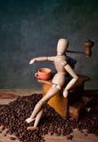 Het Stilleven van de koffie royalty-vrije stock fotografie
