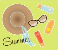 Het stilleven van de zomer Royalty-vrije Stock Afbeelding