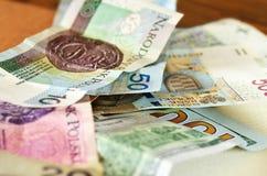 Het stilleven van het geld stock afbeeldingen