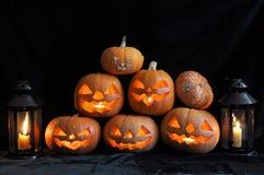 Het stilleven van Halloween Royalty-vrije Stock Fotografie