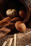 Het stilleven van het brood royalty-vrije stock fotografie