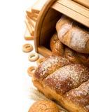 Het stilleven van het brood met ruimte Stock Afbeeldingen