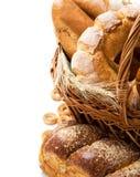Het stilleven van het brood met ruimte Royalty-vrije Stock Foto's
