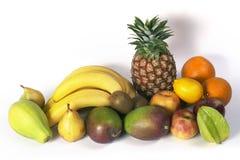 Het stilleven van het fruit Stock Foto