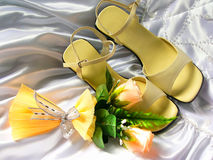 Het stilleven van het huwelijk Royalty-vrije Stock Foto's