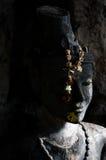 Het stilleven van het kluizenaarstandbeeld in Thailand Royalty-vrije Stock Afbeeldingen