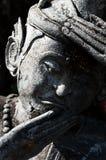 Het stilleven van het kluizenaarstandbeeld in Thailand Royalty-vrije Stock Foto