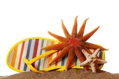 Het Stilleven van het strand Stock Afbeelding