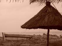 Het stilleven van het strand Stock Foto's