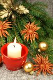 Het stilleven van Kerstmis Stock Afbeeldingen