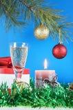 Het stilleven van Kerstmis Royalty-vrije Stock Afbeeldingen