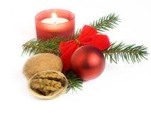 Het stilleven van Kerstmis Stock Foto