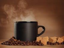 Het stilleven van het koffiethema royalty-vrije stock foto