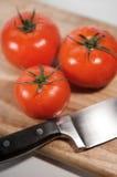 Het Stilleven van tomaten Stock Foto