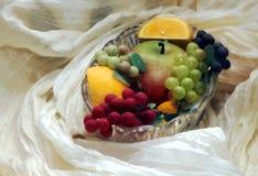 Het stilleven van vruchten Stock Afbeelding