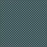 Het stippatroon Naadloze vectorillustratie met ronde cirkels, punten Geel en blauw vector illustratie